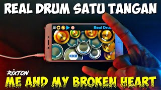 Download Lagu Rixton - Me And My Broken Heart Real Drum Satu Tangan Cover mp3