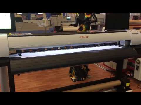 Stormjet 1.6m printer with Epson DX5 on Columbia Expo