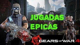 Gears of War 4 - Jugadas Épicas - Sniper, Dropshot