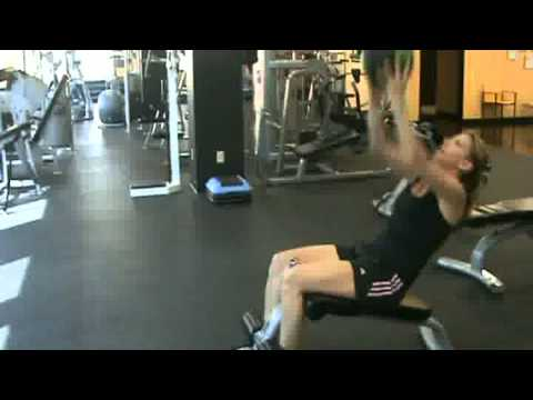 Workout with Valerie and Tammy