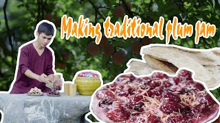 How to make plum jam   Cách Làm MỨT MẬN Dẻo Thơm Độc Đáo   Khắc Hiếu Vlog