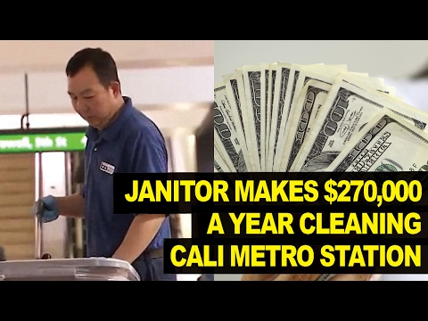 Janitor Earns $270,000 A YEAR