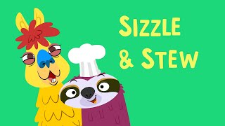 Sizzle & Stew, a cooking game for two players