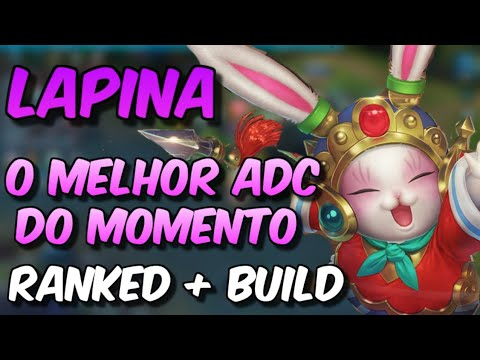 LAPINA - O MELHOR ADC DO MOMENTO / RANKED GAMEPLAY + BUILD PRO (HEROES EVOLVED)