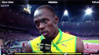 "Jamaica win men's relays London-""No English straight patois!"""