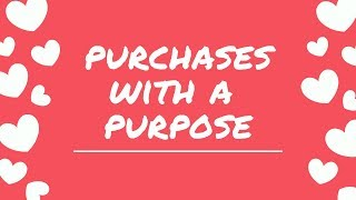 Purchases with a Purpose: MIchael's