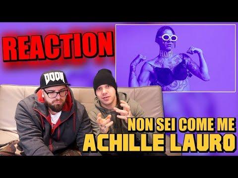 ACHILLE LAURO - NON SEI COME ME ( prod. BOSS DOMS)  | RAP REACTION 2017 | ARCADE BOYZ