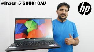 HP 15s-GR0010AU Ryzen 5 Quad Core 3450U BEST BUDGET LAPTOP Unboxing amp Review Hindi