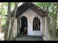 Primitive technology with survival skills Wilderness build house Roman part 11