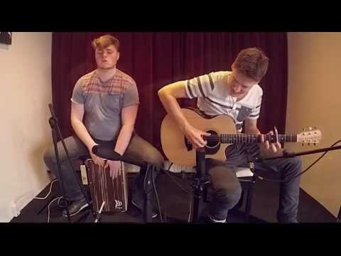 Maroon 5 - Sugar (acoustic guitar & cajon cover)