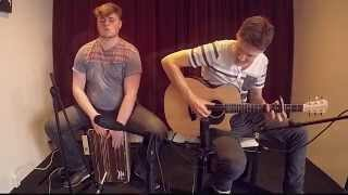 Maroon 5 - Sugar (acoustic guitar & cajon cover)
