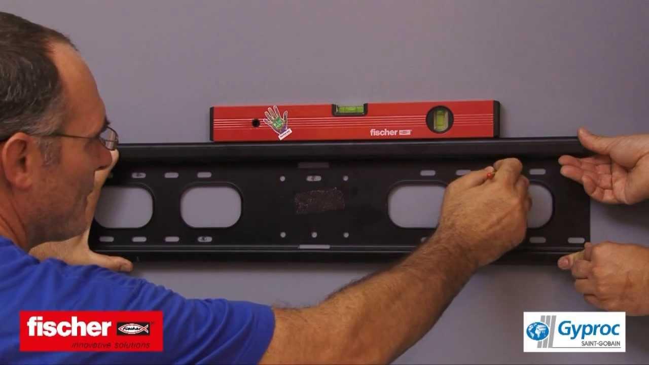 Appendere Tv Muro supporto tv cartongesso - ecco le staffe e fischer adatti!