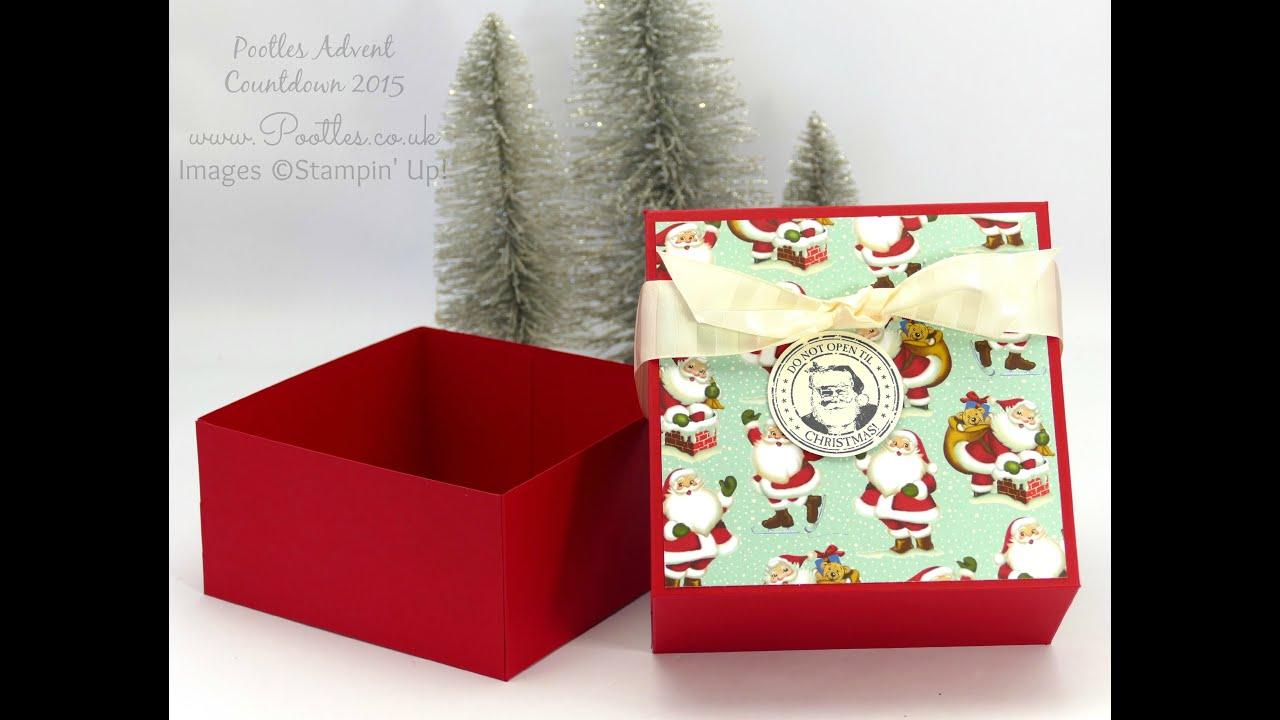 Download Pootles Advent Countdown 2015 #23 Huge Gift Box Tutorial