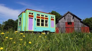 Custom Yosemite Model Tiny House With Colorful Exterior
