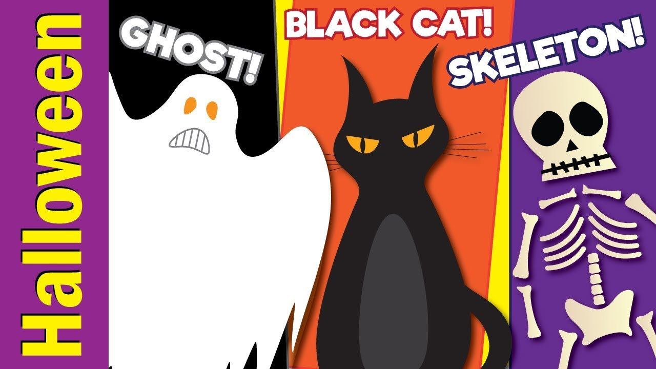 Learn Halloween Vocabulary Kids Learning Videos Esl