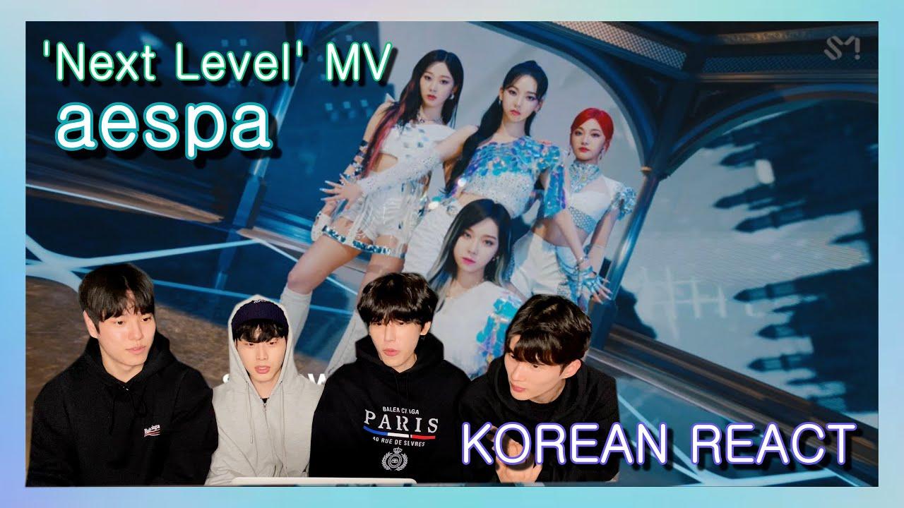 Download Korean React To AESPA 'Next Level' MV