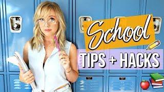 10 Organizational Tips + Hacks For Back To School | Ashley Nichole