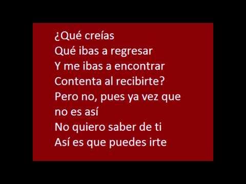 Selena - ¿Qué Creías? Lyrics/Letra