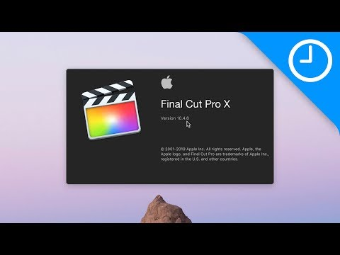 Final Cut Friday: FCP X 10.4.6 update [Video]