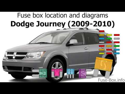fuse box location and diagrams: dodge journey (2009-2010) - youtube  youtube