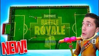 NEW FORTNITE *SOCCER* GAME MODE! - Fortnite Battle Royale