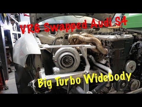 VR6 AUDI S4 BIG TURBO   A DAY AT SILLYRABBITMOTORSPORT