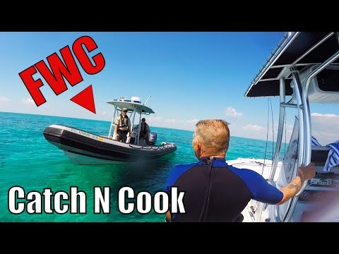 Key Largo Mutton Snapper and Lobster | catch n cook