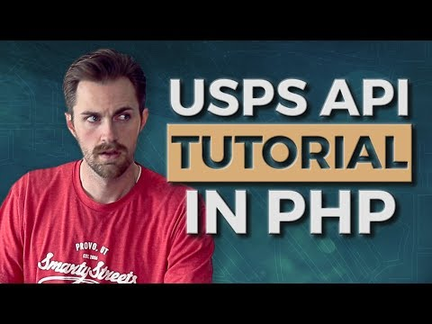 How To Use The USPS Web Tools API In PHP