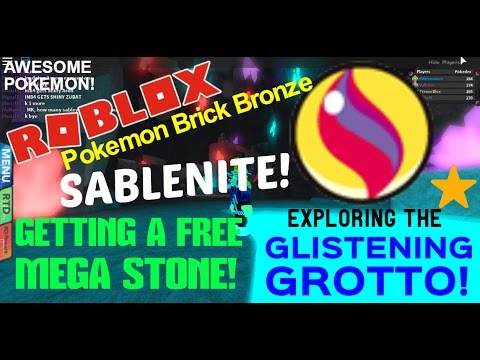 Roblox: Pokemon Brick Bronze: NEW CAVE & FREE SABLENITE! - MKmonsters