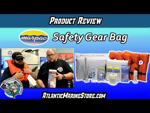 Product Review - Marine Safety Gear Bag - Atlantic Marine