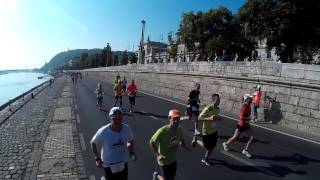 Wizz air félmaraton 2015,    a mezőny 9.5 Km-nél