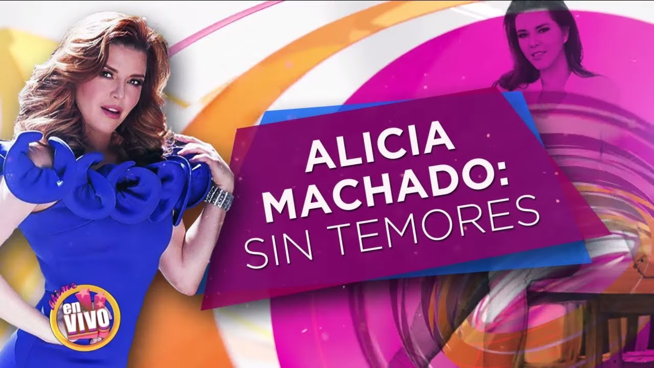 ALICIA MACHADO ahora votará por Trump | Chisme En Vivo