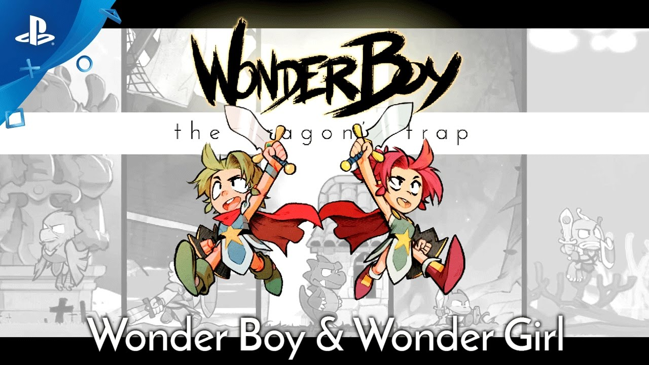 Wonder Boy: The Dragons Trap - Wonder Girl Trailer | PS4