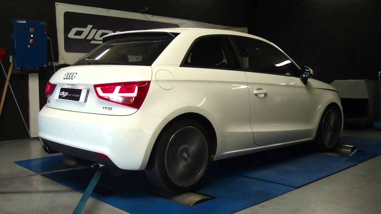 reprogrammation moteur audi a1 1 4 tfsi 122cv 146cv dyno digiservices youtube. Black Bedroom Furniture Sets. Home Design Ideas