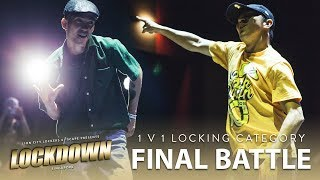 Locking Neal (KOR) vs CeeKay (SG) | 1v1 Locking Final Battle | Lockdown 2018 Singapore | RPProds