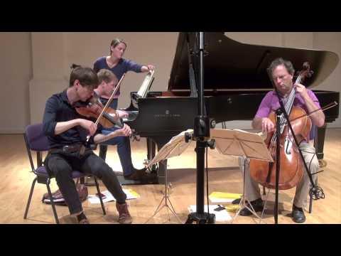 Bartolozzi Trio - Haydn Piano Trio No.23 in E flat (Presto)