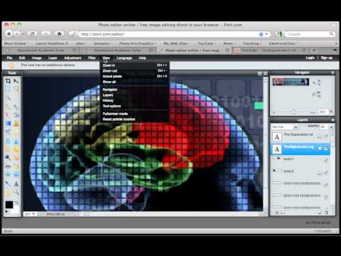 Pixlr Hand Move Tools Youtube