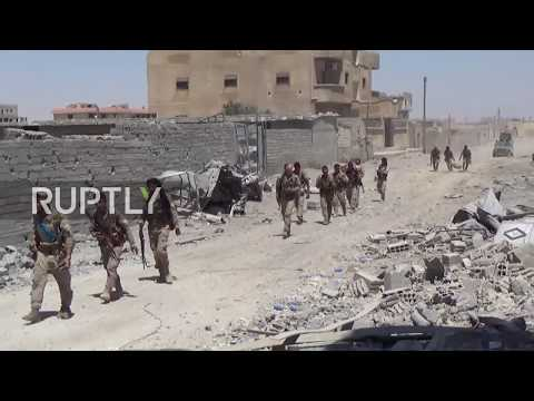 Syria: IS abandon positions in Raqqa following successful SDF campaign