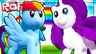 MY LITTLE PONY IN ROBLOX!