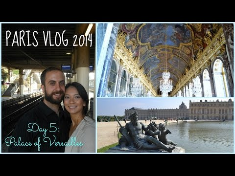 PARIS VLOG 2014: Day 5 - Palace of Versailles || My Cherry Life