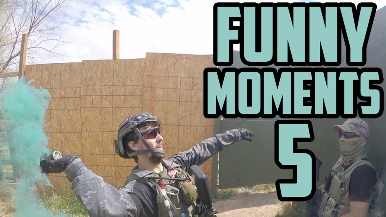 Airsoft Humorous Moments & Bloopers 5   GRENADE FAIL (GoAirheads)