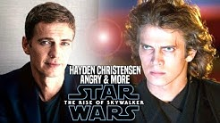 Hayden Christensen Is Angry With The Rise Of Skywalker (Star Wars Episode 9)