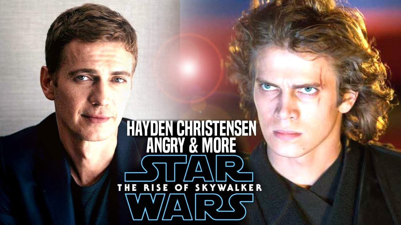 Hayden Christensen Is Angry With The Rise Of Skywalker Star Wars Episode 9 Mike Zeroh Youtube