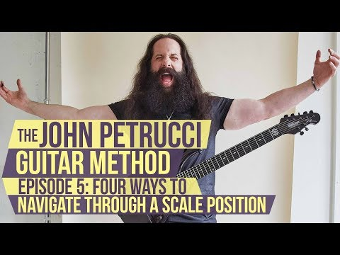 The John Petrucci Guitar Method  -  Episode 5: 4 Different Ways to Navigate a Scale Position