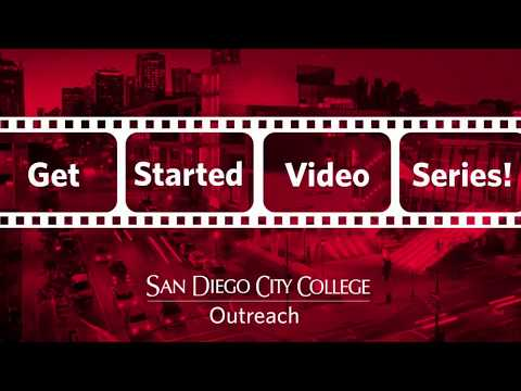 Apply to San Diego City College (Video #1)
