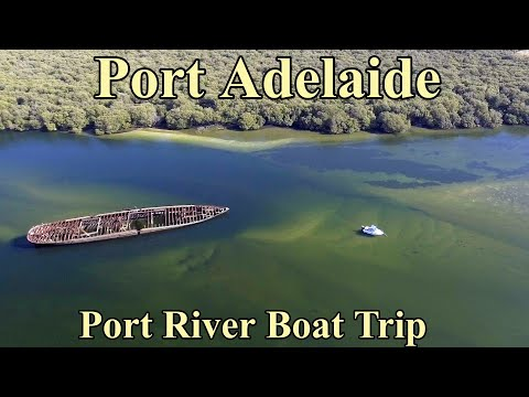 Port River Adelaide Boat Trip