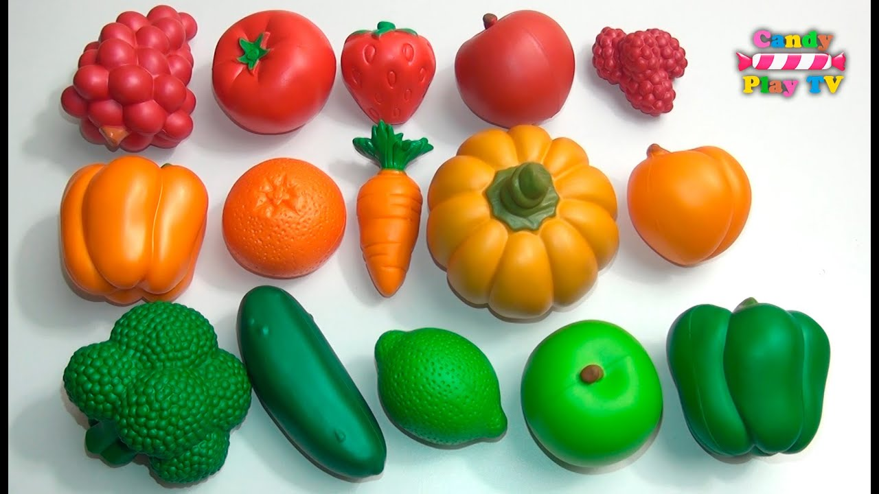 Colour by numbers fruit - Learn Colours With Fruit And Vegetables Learn To Count 1 To 5 Colors With Fruit And Vegetables
