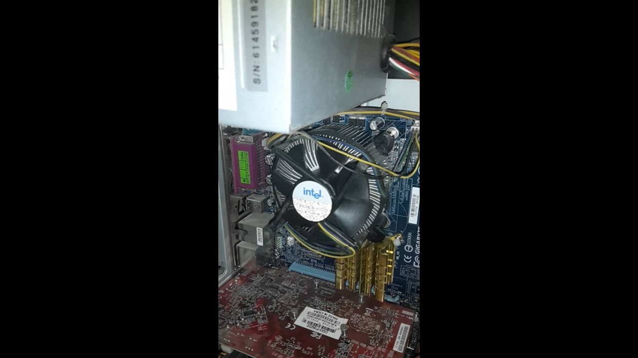 CPUS fan is starting, stoping, starting, stoping all the time