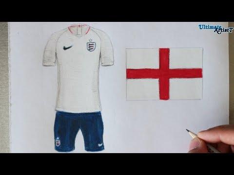 Nike England 2018 World Cup Kit  c7cb13ab0