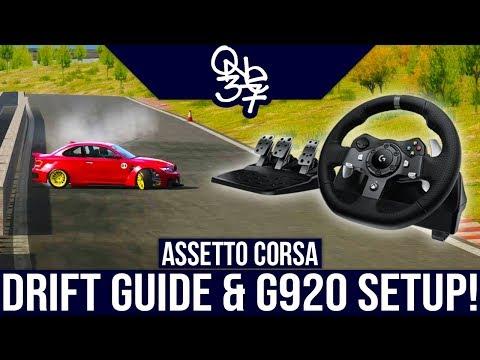The Definitive Assetto Corsa Drifting Guide & Logitech G920 Settings!